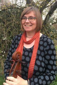 Cellist Abby Wollston