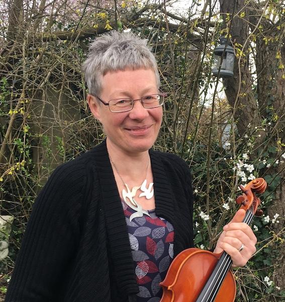 Violinist Julia Black