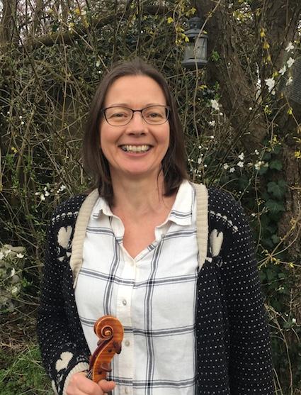 Violinist Karen Silverwood